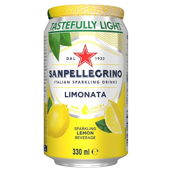 San Pellegrino Lemon Can